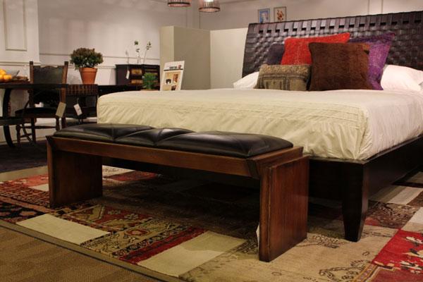 woodworking bedroom bench